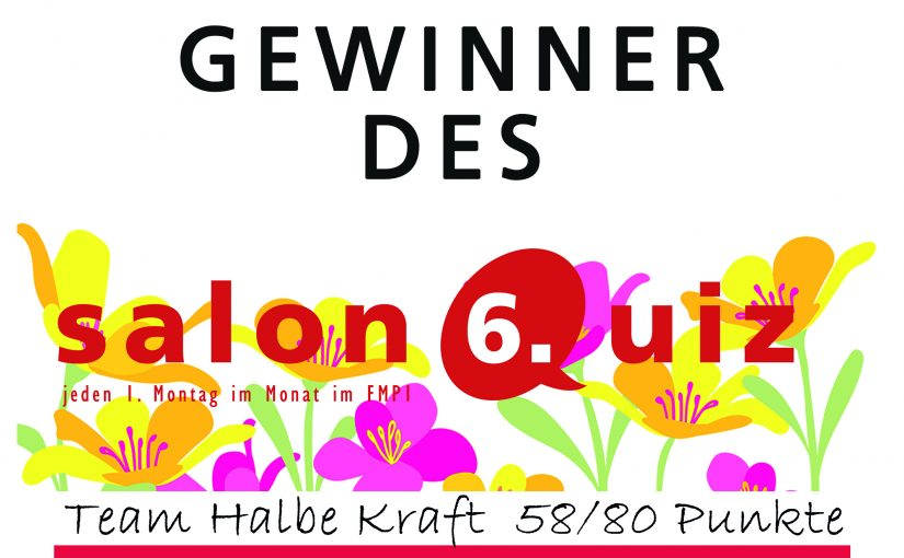 salonQuiz N°6 Der Frühling kommt